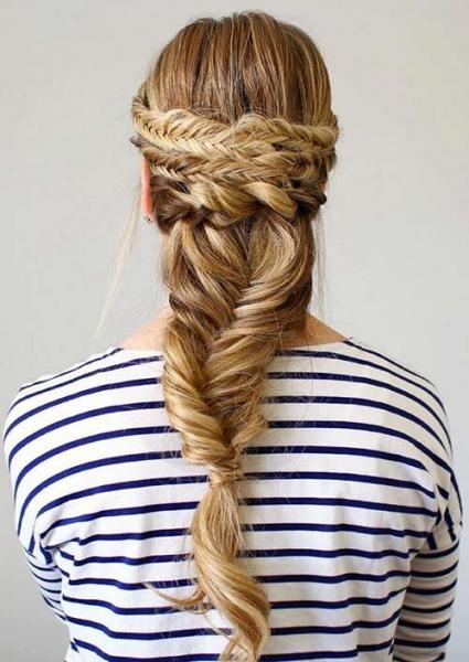 100 укладок длядлинных волос: выбирай!