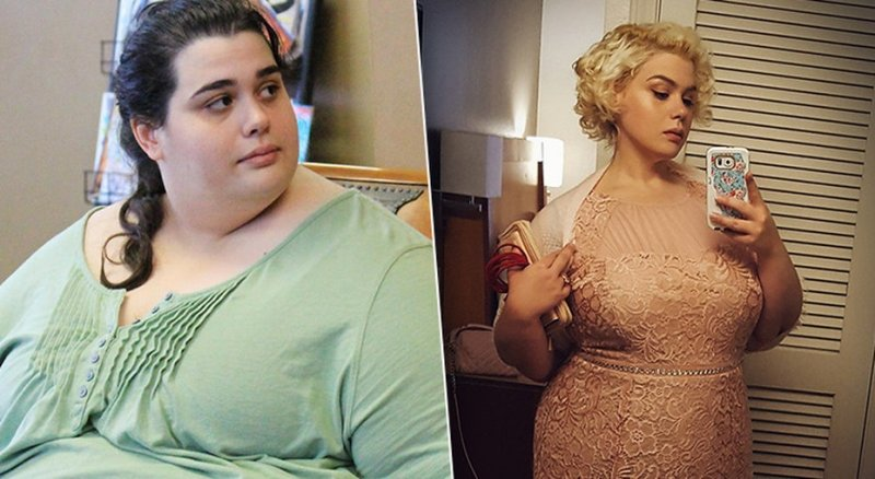 Ее спас телевизор: эта девушка весила 300 кг, но сумела похудеть ради шоу