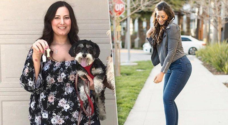 Как штанга помогла похудеть на80 кг. Реальная история