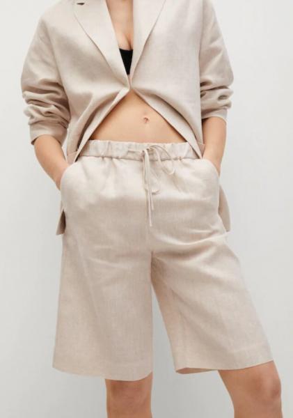 Деним, лен или хлопок: выбираем модные удлиненные шорты налето