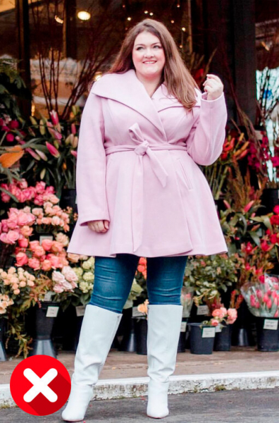 Побереги фигуру! 6 моделей пальто, которые нещадно полнят